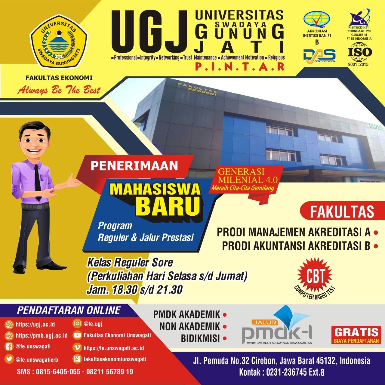Pesan Dekan FE UGJ Untuk Para Lulusan